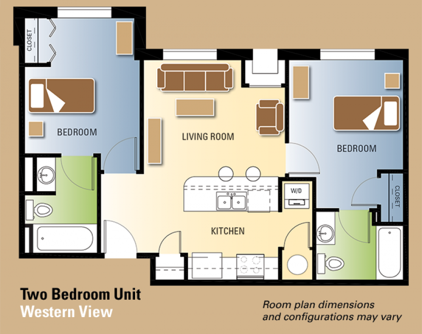 Western View Floor Plan