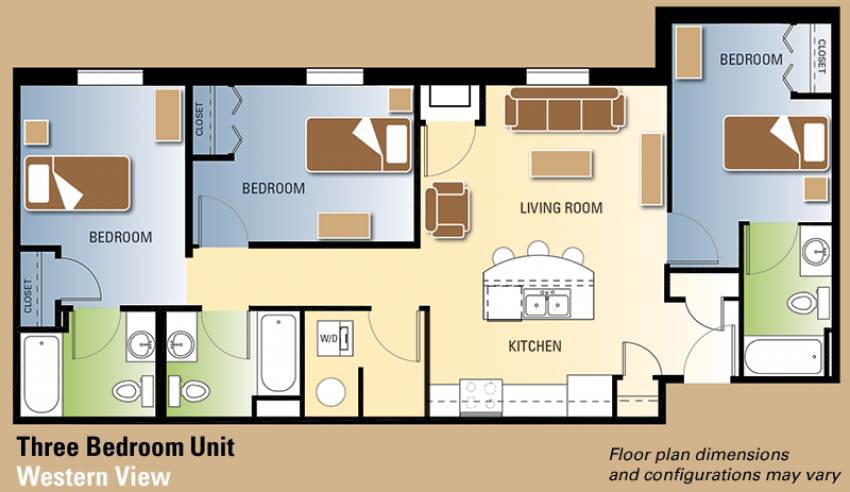 Western View floor plan