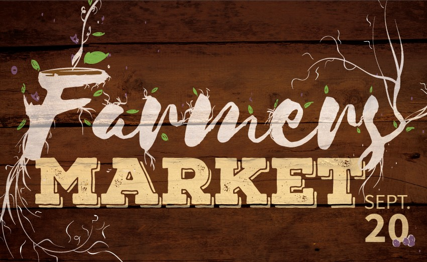 Farmer's Market Luncheon September 20