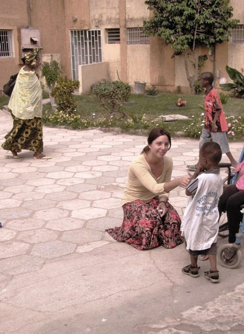 WMU student in Grand Yoff, Senegal.