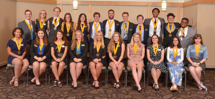 Group photo of 2019 Medallion Scholars