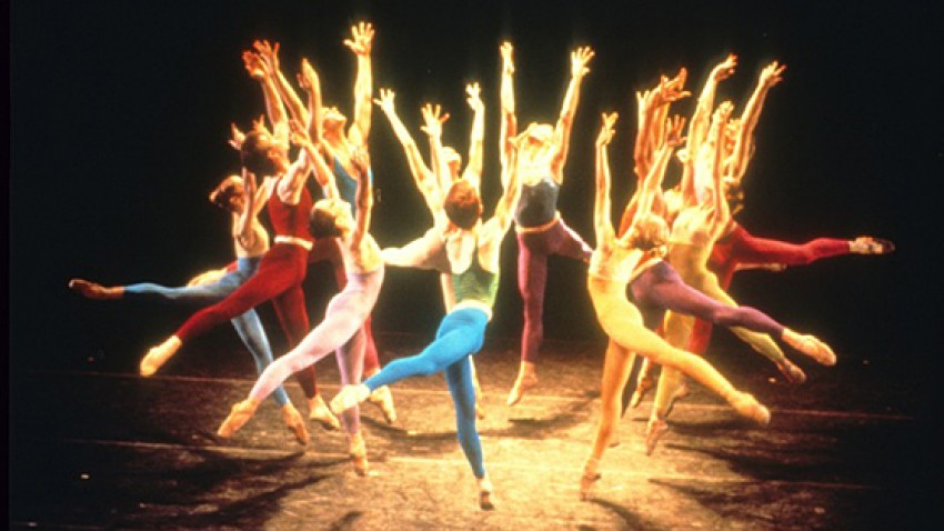 Photo of dancers in the Joffrey Ballet.