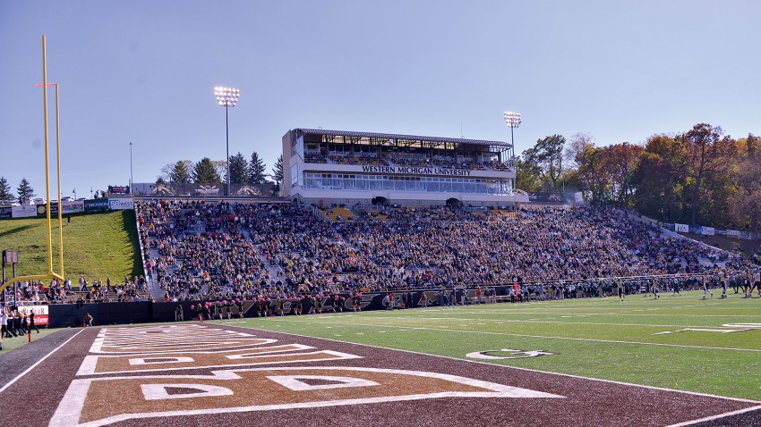 Photo of WMU's Waldo Stadium.