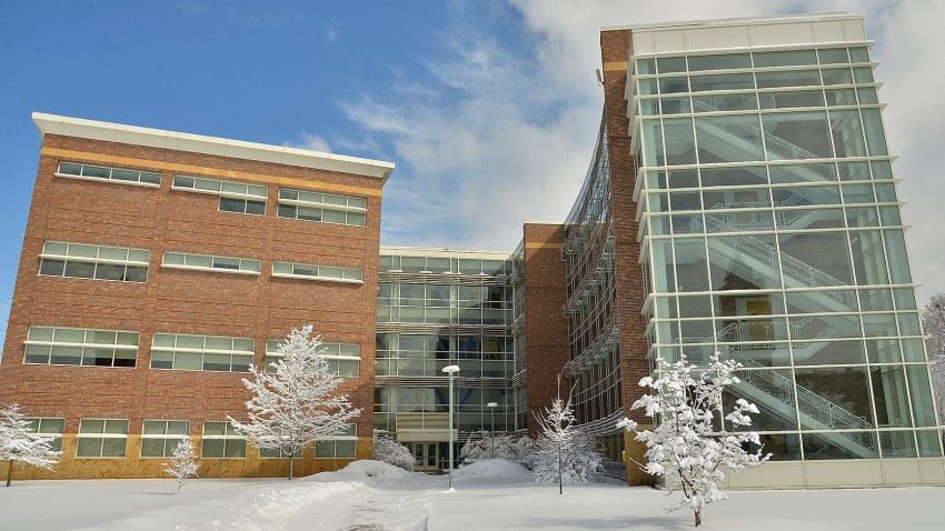Photo of WMU's College of Health and Human Services building.