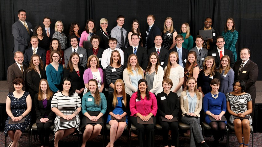 Photo of WMU's 2016 Presidential Scholars.