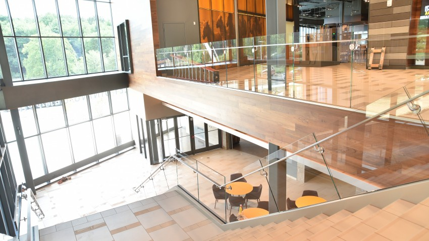 Photo of WMU's Valley Dining Center.