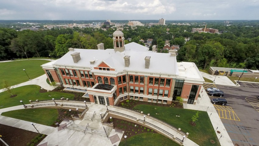 Photo of WMU's Heritage Hall.
