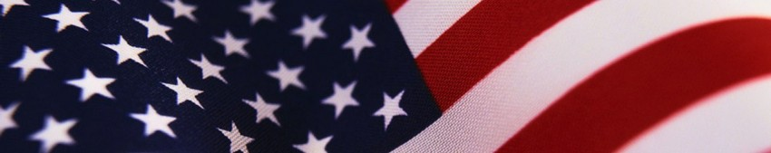 Photo of US flag.