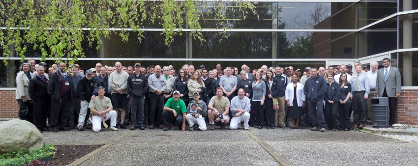 2014 Maintenance Services Family Photo