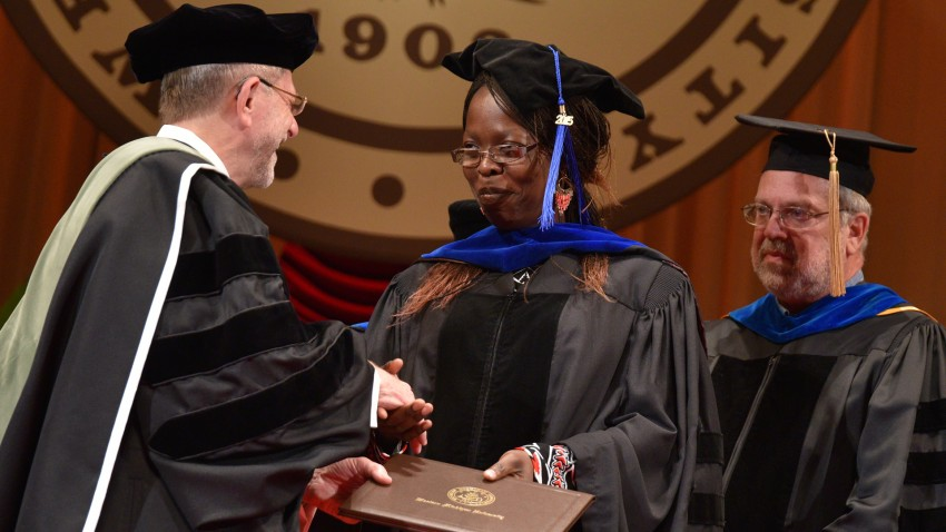 Jane Okwako, Ph.D.