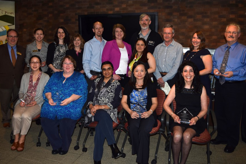 2016 CAS faculty and staff awardees