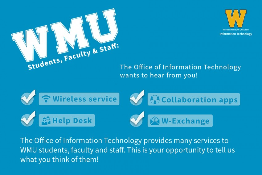 Services survey for Office of Information Technology