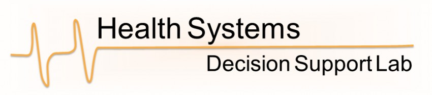Health Systems decision support lab logo
