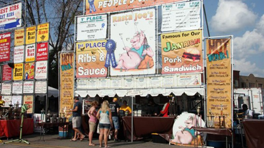 Photo of Ribfest Kalamazoo.