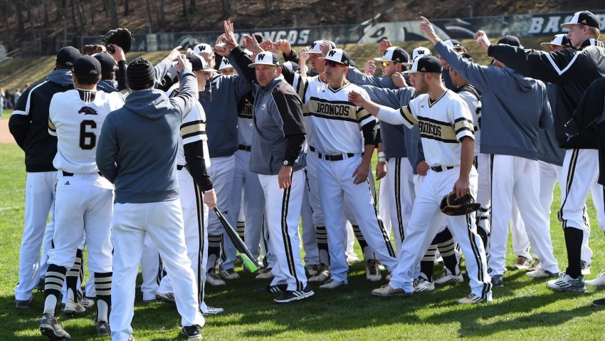 Photo of WMU baseball Broncos.