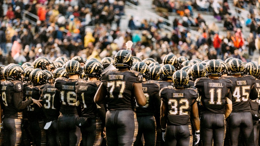 Photo of the 2016 WMU football team.