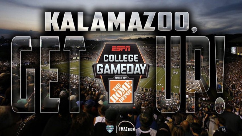 ESPN College GameDay comes to WMU.