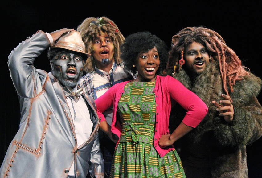 Photo of WMU theatre students in The Wiz.