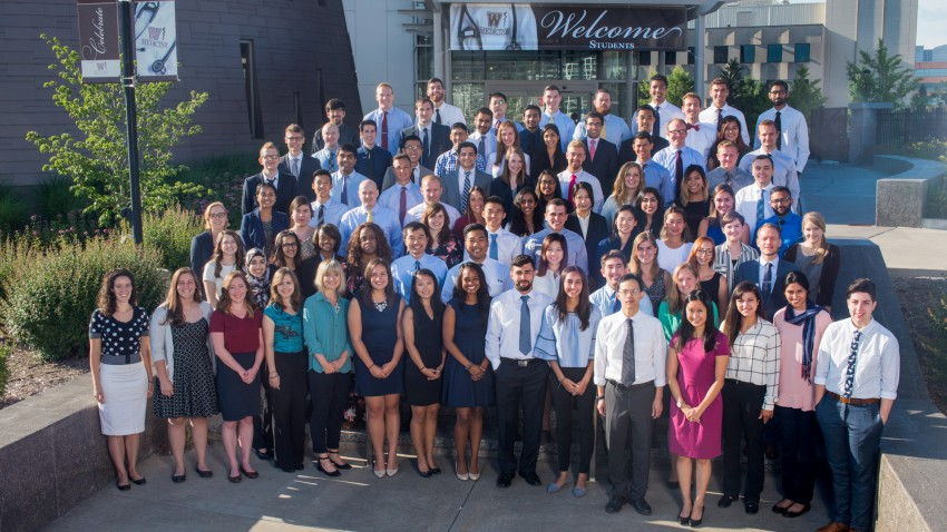 Photo of WMed Class of 2021.