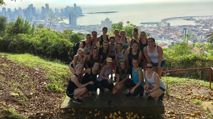 Photo of WMU dance students in Panama.