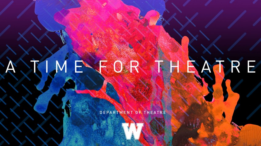 Post art: WMU Theatre 2017-18 season, A Time for Theatre.
