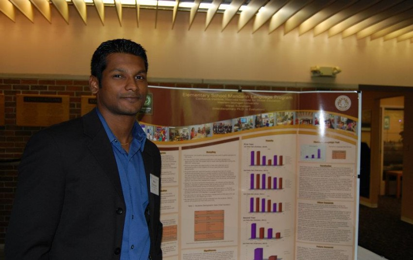 Photo of Maran Subramain, doctoral research associate.