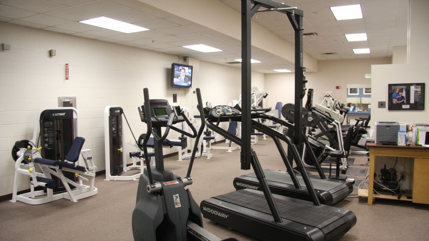 photo of equipment at sports medicine clinic