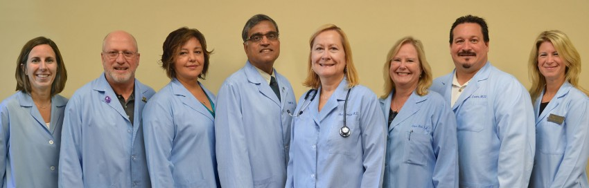 photo of health center clinicians