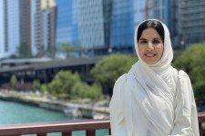 Photo of the author, Alya AlHarrasi