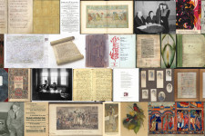 Collage of unique collection available at WMU Libraries.