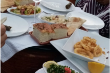 Various plated meals we had while in Jordan
