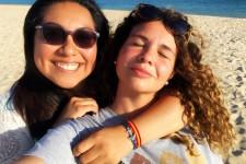 Me and Julia in Playa El Puntal