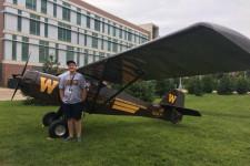 WMU College of Aviation Management and Operations Student Matthew Pruitt