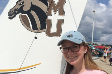 WMU Aviation Flight Science Student Miranda Goodison