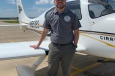 WMU Aviation Management and Flight Student Matthew Wietstock