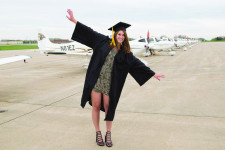 WMU Aviation Alumna Maya Thornley