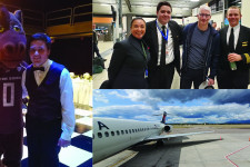 WMU Aviation Alumni Matt Thaler Picture Montage