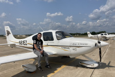 WMU Aviation Flight Alumni Noah Bielat