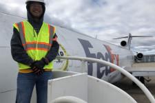 WMU Aviation Technical Operations Student Patrick Senger