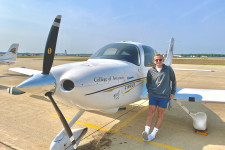 WMU Aviation Flight Science Student Hunter Hayes