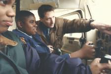 WMU Aviation Faculty Member Dominic Nicolai and Future Aviators