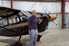WMU Aviation Flight Science Student Michael Coldagelli