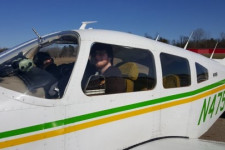 WMU Aviation Management and Operations Student Zach Orfin