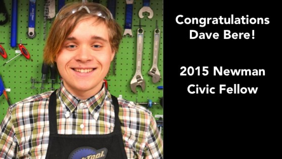 dave bere newman civic fellow