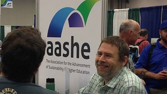 people at aashe conference