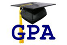 "Graduation cap with the letters ""GPA"""