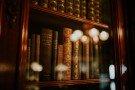 Bokeh bookshelf
