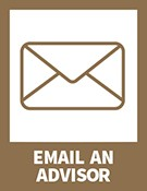 Email an advisor- envelope icon