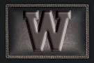 "Western Michigan University ""W"" logo."