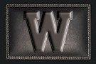 "Western Michigan University ""W"" logo."